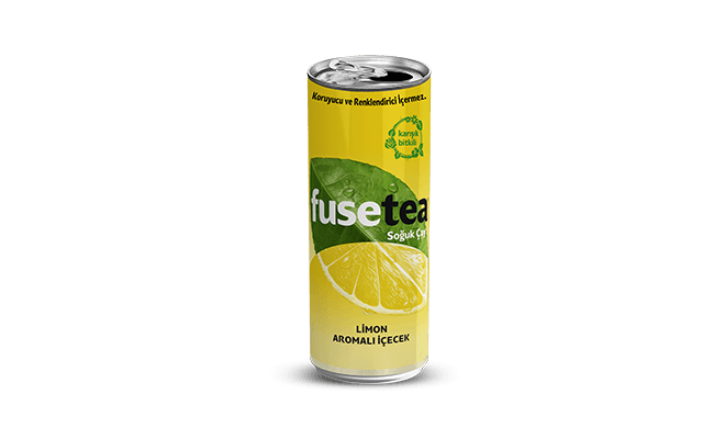 Kutu Fuse Tea Limon